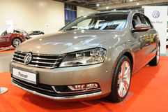 Volkswagen Passat. 7 model 2010 on display at the Auto Show Poland Stock Photography