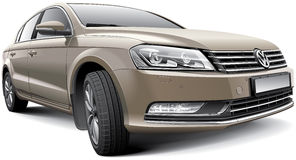 Volkswagen Passat B7 illustration stock