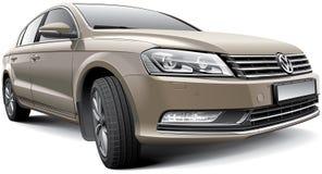 Volkswagen Passat B7 stock de ilustración