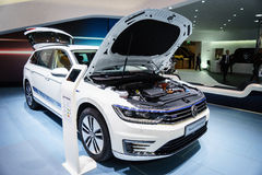 Volkswagen Passat GTE, Motor Show Geneve 2015 Royalty Free Stock Photo