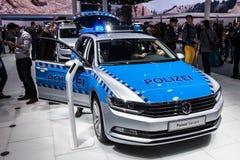 Volkswagen Passat Police at the IAA 2015 Royalty Free Stock Photos