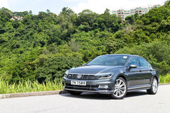 Volkswagen Passat R-Line 2015 Test Drive Day Stock Images