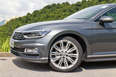 Volkswagen Passat R-Line 2015 Test Drive Day Stock Photos