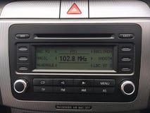 Volkswagen Passat-Radio Stockbilder
