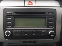 Volkswagen Passat Radio Stock Images