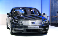 Volkswagen Phaeton. Presented at the Moscow International Autosalon on September 1, 2010 in Moscow, Russia Royalty Free Stock Photography