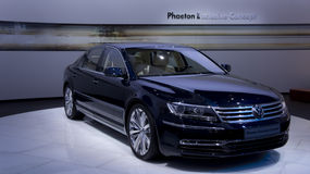 Volkswagen Phaeton. Concept at the exhibition Stock Images
