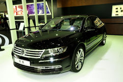 Volkswagen Phaeton saloon car Royalty Free Stock Image