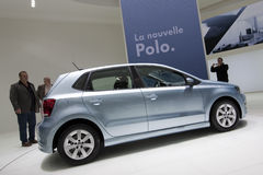 Volkswagen Polo Bluemotion - Geneva 2009 Royalty Free Stock Photo