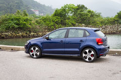 Volkswagen Polo GTI 2013 Model Royalty Free Stock Images