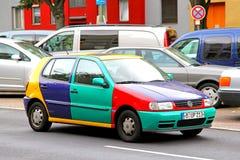 Volkswagen Polo Harlekin Royalty Free Stock Image