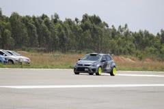 Volkswagen Polo modificó el coche Imagenes de archivo