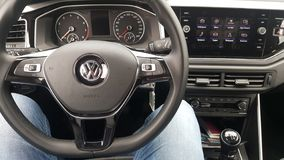 Volkswagen Polo novo fotografia de stock