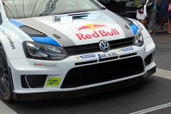 Volkswagen Polo Rally Car imagem de stock