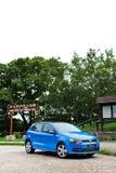Volkswagen Polo TSI 2014 provdrev Royaltyfri Bild
