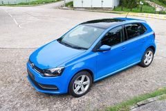 Volkswagen Polo TSI 2014 test drive Stock Photo