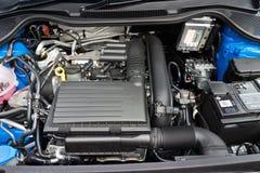 Volkswagen Polo TSI 2014 testa przejażdżka Fotografia Stock
