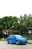 Volkswagen Polo TSI 2014 testa przejażdżka Obraz Royalty Free