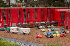 Volkswagen prefabbricato di Lego fotografia stock libera da diritti