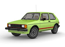 Volkswagen Rabbit GTI (1984) Royalty Free Stock Photography