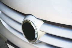Volkswagen radiator grill Royalty Free Stock Image