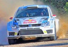 Volkswagen rally car stock photos