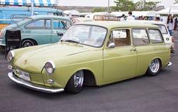 Volkswagen Retro tappningbil. Royaltyfria Bilder
