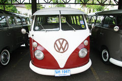 Volkswagen retro vintage car / Split Bus Stock Image