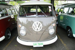 Volkswagen retro vintage car / Split Bus Stock Photo