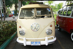 Volkswagen retro vintage car / Split Bus Stock Images
