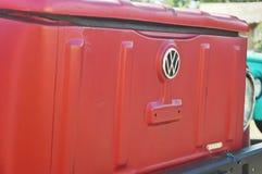 Volkswagen rosso fotografia stock libera da diritti