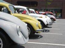 Volkswagen Row. VW car show Royalty Free Stock Photo
