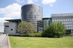 Volkswagen's Glass Factory Stock Photo