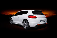Volkswagen Scirocco Fotografie Stock Libere da Diritti