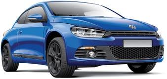 Volkswagen Scirocco libre illustration