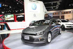 BANGKOK - MARCH 26: Volkswagen Scirocco car on display at The 34th Bangkok International Motor Show on March 26, 2013 in Bangkok, Stock Photos