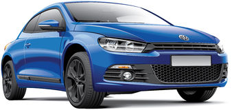 Volkswagen Scirocco Royalty Free Stock Images