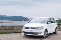 Volkswagen Sharan 2016 Royalty Free Stock Photos
