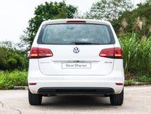 Volkswagen Sharan 2016 Stock Photo