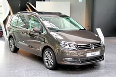 Volkswagen Sharan Royalty Free Stock Photo