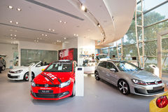 Volkswagen Show Room Royalty Free Stock Photos