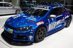 Volkswagen Scirocco GT24. Race team car Royalty Free Stock Photo