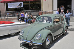 Volkswagen skalbagge 1956 Royaltyfria Foton