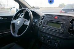 Volkswagen-stuurwiel Royalty-vrije Stock Foto