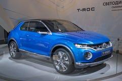 Volkswagen T-Roc begrepp Fotografering för Bildbyråer