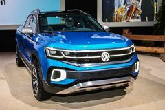 Volkswagen Tarok immagine stock libera da diritti