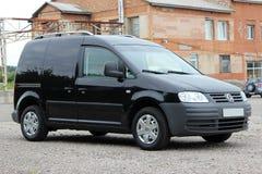 Volkswagen-theebus 2006 zwarte Royalty-vrije Stock Afbeeldingen