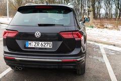 Volkswagen Tiguan, νέο το 2017 Στοκ εικόνες με δικαίωμα ελεύθερης χρήσης