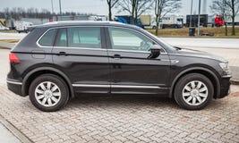 Volkswagen Tiguan, 4x4 ρ-γραμμή 2017 Στοκ Εικόνες