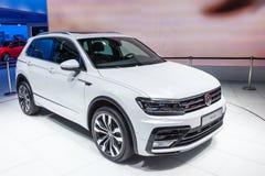 Volkswagen Tiguan bij IAA 2015 Stock Afbeelding